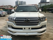 2017 TOYOTA LAND CRUISER 4.6 ZX FULL SPEC UNREG