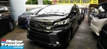 2017 TOYOTA VELLFIRE 2.5 ZG FULLSPEC.UNREG.LESS 50 SST.TRUE YEAR CAN PROVE.SUNROOF.ALPHINE MONITOR.PILOT SEAT.POWER
