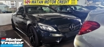 2016 MERCEDES-BENZ C-CLASS C300 2.0 CC AMG FULLSPEC UNREG.LESS HALF SST.TRUE YEAR CAN PROVE.NO HIDDEN CHARGE.PANAROMIC ROOF.ORI