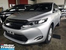 2015 TOYOTA HARRIER ELEGANCE 2.0/FREE 5 YEARS WARRANTY/MAKER TV/NON SMOKING