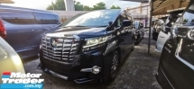 2015 TOYOTA ALPHARD 2.5 SC FULLSPEC UNREG.INCLUDED 50 SST.TRUE YEAR CAN PROVE.SUNROOF.JBL THEATER.PRE CRASH.360 CAMERA.