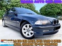 2002 BMW 3 SERIES E46 318I CKD LEATHER SEAT ORI PAINT OTR PRICE