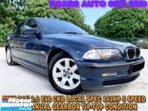 2002 BMW 3 SERIES E46 318I CKD LEATHER SEAT ORI PAINT OTR PRICE