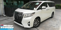 2017 TOYOTA ALPHARD Toyota Alphard 2.5 G 2017