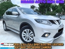 2017 NISSAN X-TRAIL 2.5L FULL SPEC 4WD LEATHER SEAT NAVIGATION