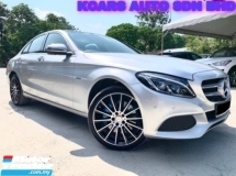 2018 MERCEDES-BENZ C-CLASS C350 E AMG HYBRID UNDER WARRANTY P/ROOF P/BOOT ORI PAINT