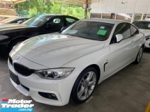 2015 BMW 4 SERIES 420i COUPE 2 DOOR 2.0 (A) M SPORT Un-register