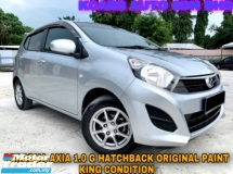 2016 PERODUA AXIA 1.0 G ORI PAINT KING CONDITION ONTHEROAD PRICE