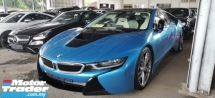 2016 BMW I8 1.5CC UNREGIST FULLSPEC.GENUINE LOW MILEAGE.360 CAMERA.HARMON KARDON.LED LIGHT.HEAD UP DISPLAY N ETC
