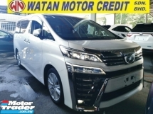 2018 TOYOTA VELLFIRE 2.5 ZA FULLSPEC.UNREG.TRUE YEAR CAN PROVE.HALF SST.7 SEAT.3 POWER DRS N BOOT.360 CAM.LED LIGHT N ETC