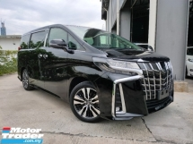 2018 TOYOTA ALPHARD 3.5 SAC Pre Crash LTA Leather Unregister Offer