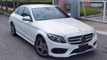 2017 MERCEDES-BENZ C-CLASS 2017 MERCEDES C200 2.0 AMG SPEC ORIGINAL FROM JAPAN UNREG CAR SELLING PRICE  RM 198000.00