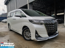 2018 TOYOTA ALPHARD 3.5 GF H/T 4CAM DIM BSM JBL OFFER CHEAP UNREG