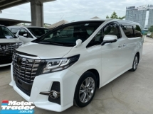 2017 TOYOTA ALPHARD 2.5 SA SPECIAL EDITION TYPE BLACK UNREG