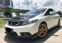 2015 HONDA CIVIC 2.0 SI SPEC LIMITED UNIT 6 POT BREMBO DISC