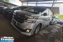 2017 TOYOTA VELLFIRE 2.5 X 8 SEATERS POWER BOOTH 4 CAMERA 2 POWER DOORS PRE CRASH 2017 JAPAN UNREG FREE GMR WARRANTY