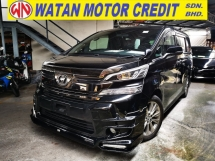 2016 TOYOTA VELLFIRE 2.5 Z GOLDEN EYES