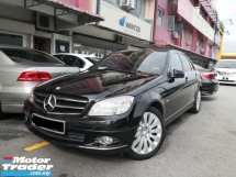 2010 MERCEDES-BENZ C-CLASS C200 CGi Turbo Avantgarde TRUE YEAR MADE 2010 Mil 109k km Genuine WE FREE 2 YEARS WARRANTY