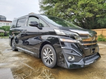 2017 TOYOTA VELLFIRE 3.5 EXECUTIVE LOUNGE EL FULL SPEC UNREG