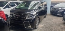 2017 TOYOTA VELLFIRE 2.4 Z G EDITION FACELIFT SUNROOF ALL TAX INCLUDE