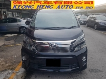 2012 TOYOTA VELLFIRE 3.5 V6 ZG MODEL (FREE 2 YEARS WARRANTY)