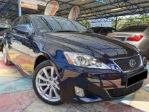 2008 LEXUS IS Lexus IS250 2.5 V6 (A) KEYLESS PERFECT COND WRRNTY