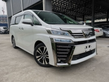 2018 TOYOTA VELLFIRE 2.5 ZG CHEAPEST BASIC WHITE PILOT SEAT OFFER UNREG