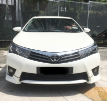 2014 TOYOTA ALTIS 2.0 V FACELIFT AT SEDAN LOW MILEAGE ONE OWNER