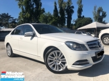 2014 MERCEDES-BENZ C-CLASS C200 CGI 1.8 (A) FACELIFT GOOD CONDITION