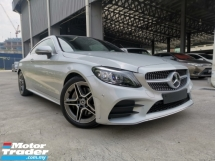 2019 MERCEDES-BENZ C-CLASS C300 AMG COUPE PANROOF 4CAM BURMESTER FULL UNREG