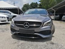 2018 MERCEDES-BENZ CLA CLA 180 1.6 FACELIFT