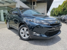 2016 TOYOTA HARRIER 2.0 ELEGANCE DARK GREEN BLUE OFFER UNREG
