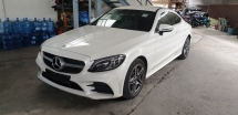 2019 MERCEDES-BENZ C-CLASS C300 2.0 COUPE AMG PREMIUM NEW FACELIFT NO HIDDEN CHARGES