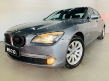 2011 BMW 7 SERIES 730LI 3.0 (A) LONG WHEEL BASE LIMOUSINE VACUM DOOR