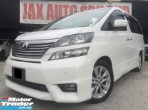 2009 TOYOTA VELLFIRE 2.4 Z PLATINUM SELECTION