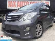 2011 TOYOTA ALPHARD 240S PRIME SELECTION 7 seater 2 power door power
