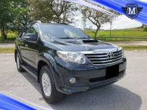 2013 TOYOTA FORTUNER 2.5 (A) G VNT SUV DIESEL LEATHER SEAT CAR KING CONDITION