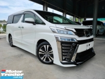 2019 TOYOTA VELLFIRE 2.5 ZG 3LED PreCrash LTA Leather TRD Bodykits Unregister