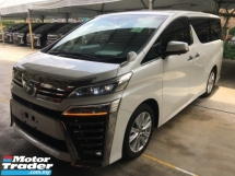 2019 TOYOTA VELLFIRE 2.5 ZA Z Edition Power Boat 360 Camera SUN ROOF