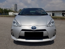 2012 TOYOTA PRIUS C 1.5 (A) Hybrid Hatchback MORE FUEL SAVE FULL SERVICE RECORD NICE NUMBER