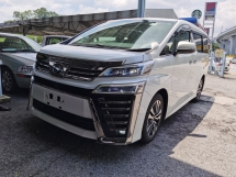 2018 TOYOTA VELLFIRE 2.5 ZG LATEST FACELIFT 4 CAMERA DIGITAL REARV VIEW MIRROR RE CRASH 2018 JAPAN UNREG