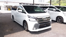 2016 TOYOTA VELLFIRE 2.5 ZA WITH SUNROOF & FRONT ONLY ALPINE AUDIO
