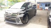 2016 TOYOTA VELLFIRE 2.5 ZA WITH SUNROOF