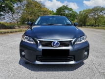 2011 LEXUS CT200H 1.8 (A) Luxury Hatchback PUSH START MORE FUEL SAVE CAR KING CONDITION