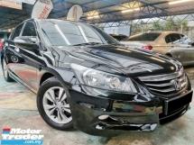 2012 HONDA ACCORD Honda ACCORD 2.0 VTi-L BLACK LEATHER E/SEAT WRRNTY