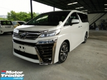 2019 TOYOTA VELLFIRE ZG F/LEATHER SUNROOF BSN DIM