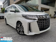 2018 TOYOTA ALPHARD 2.5 SC 3LED ALPINE BASIC BEST OFFER UNREG