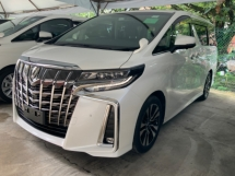 2018 TOYOTA ALPHARD 2.5 SC sunroof pilot seat power boot surround camera facelift unregistered
