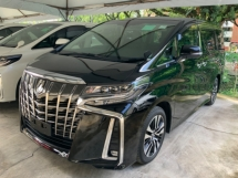 2018 TOYOTA ALPHARD 2.5 SC 3 LED surround camera power boot unregistered