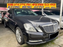 2013 MERCEDES-BENZ E-CLASS E200 CGI CKD Full Service Record Actual Year Make
